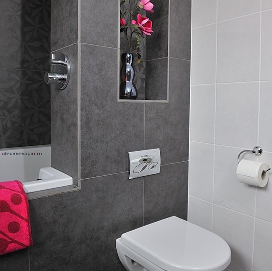 idei amenajari baie gri cu alb micabaie gri cu alb mica best gray tile bathroom grey tile bathroom