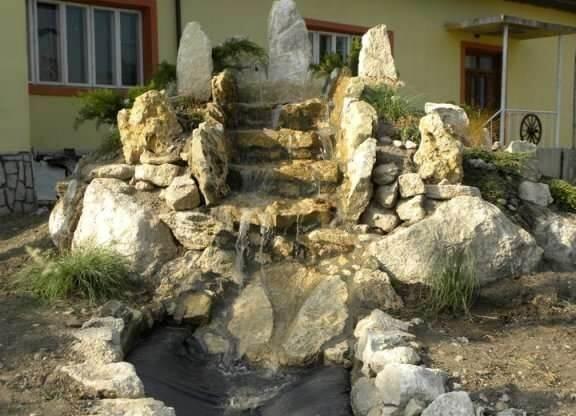 Model complex fantana tip cascada