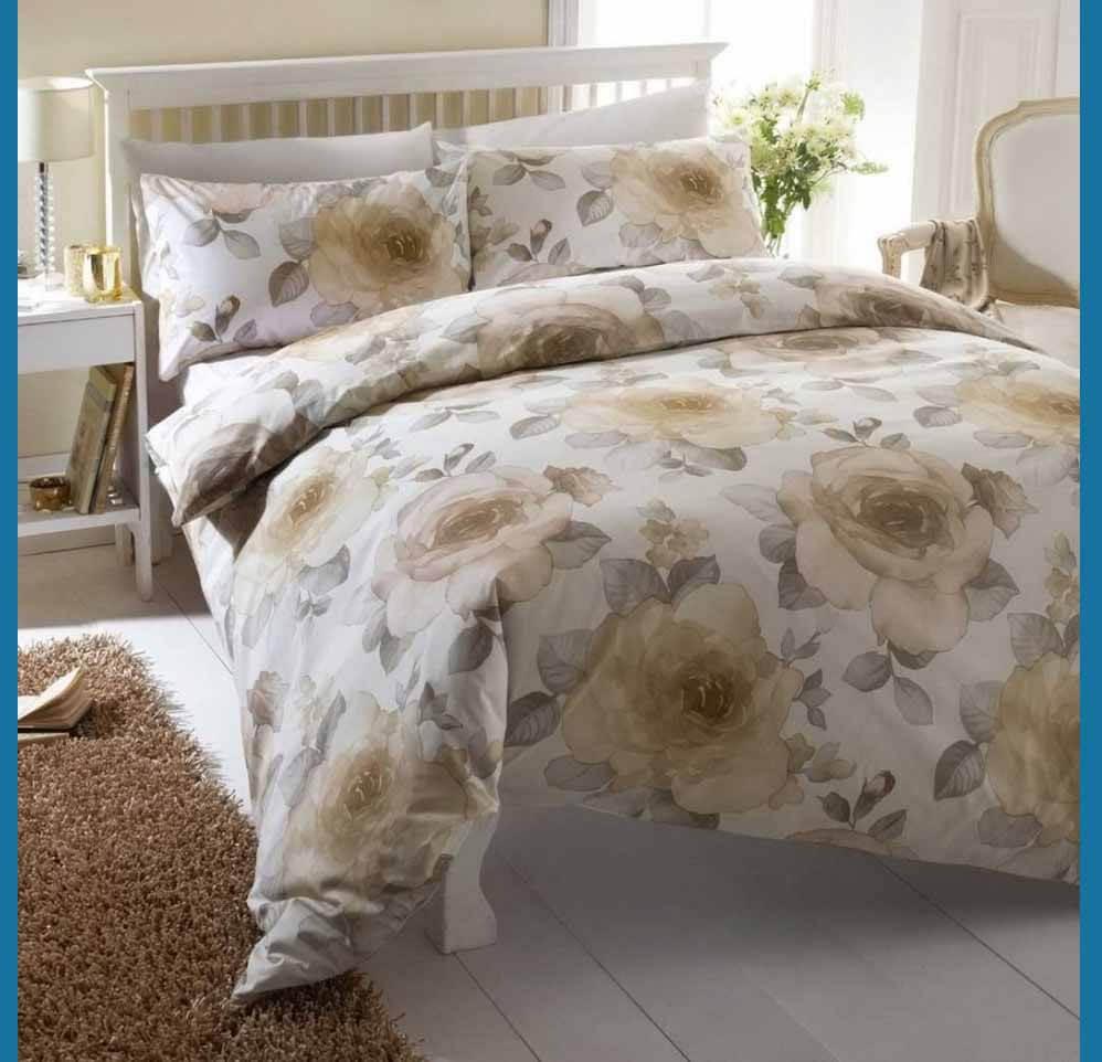 flori maro lenjerie de pat