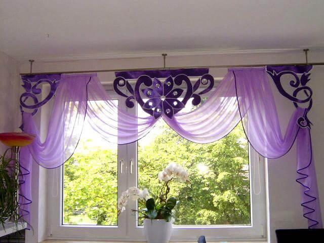 draperii violet