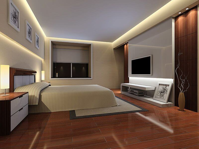 dormitor-parchet-maro