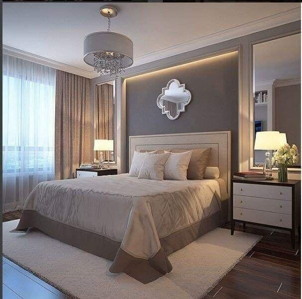 dormitorul amenajat frumos