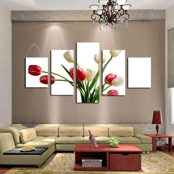 interior amenajat in living room